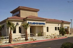 island pet hospital building exterior on w ann rd, pet friendly veterinarian in las vegas, nevada